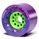 Orangatang Caguama 85 mm 83a Downhill Longboard Skateboard Cruising Wheels w/Loaded Jehu V2 Bearings...
