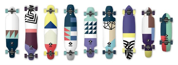 Longboard Shapes