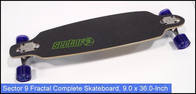 Sector 9 Fractal Complete Skateboard 9.0