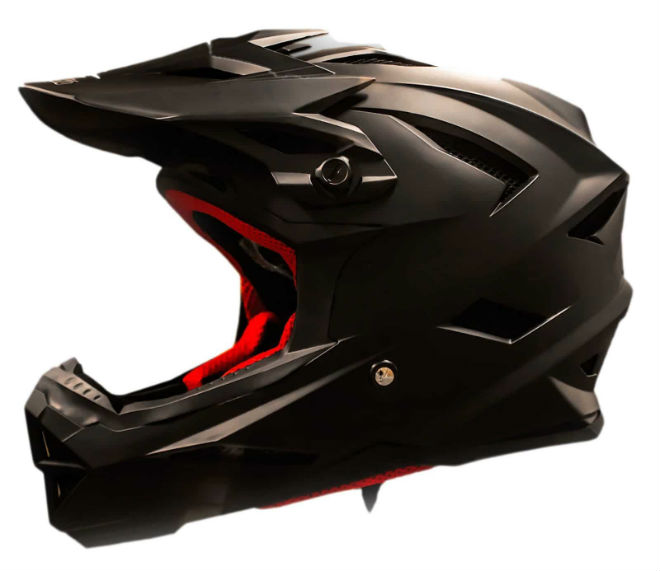 Full face skate helmet