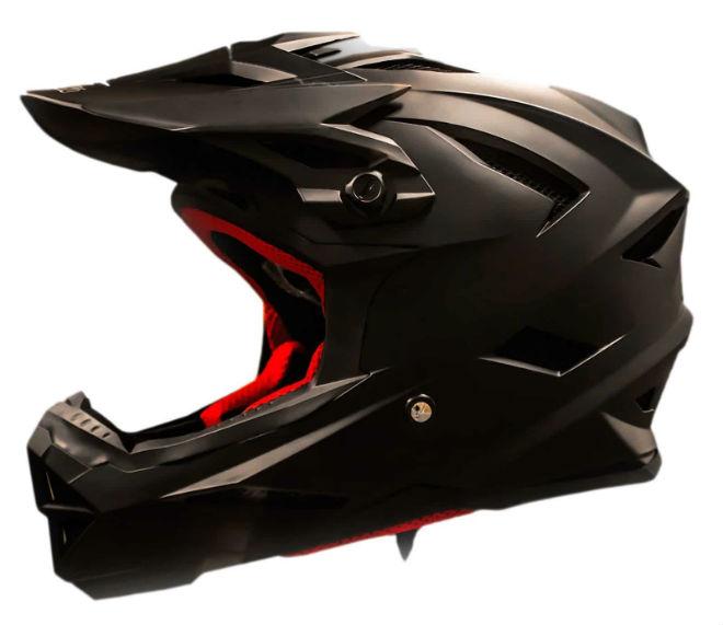 Full face skate helmet