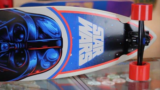 Santa Cruz Star Wars Darth Vader Cruzer Longboard