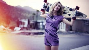 Girls and Longboards: A match made in heaven