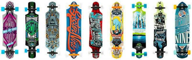 sector nine longboards