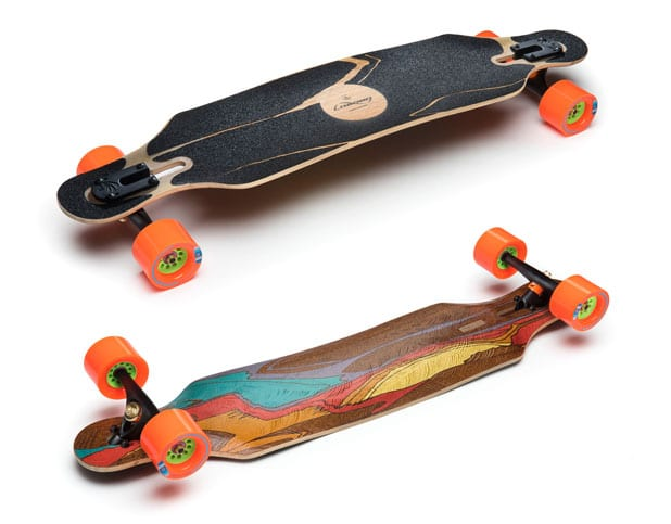longboard longboards icarus loaded types carving explained longboardbrand cut deck riding