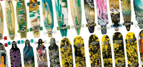 Longboard features