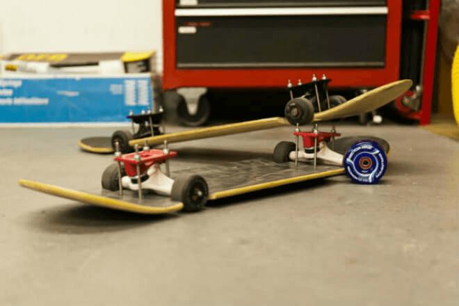 Balancing Longboard