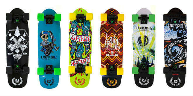 Landyachtz Longboards Design Color