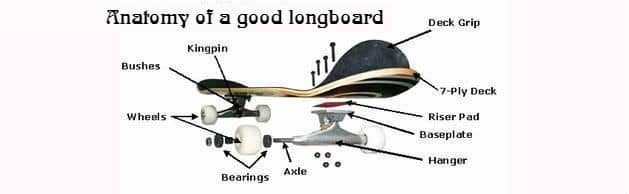 Anatomy of a good longboard