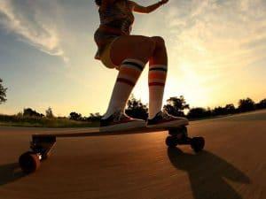Health benefits of Longboarding