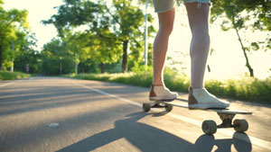 How can Longboarding keep you fit