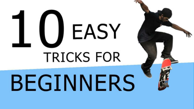 10 Easy Beginner Skateboard Tricks