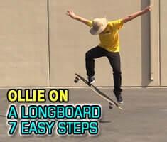 Ollie on a Longboard 1