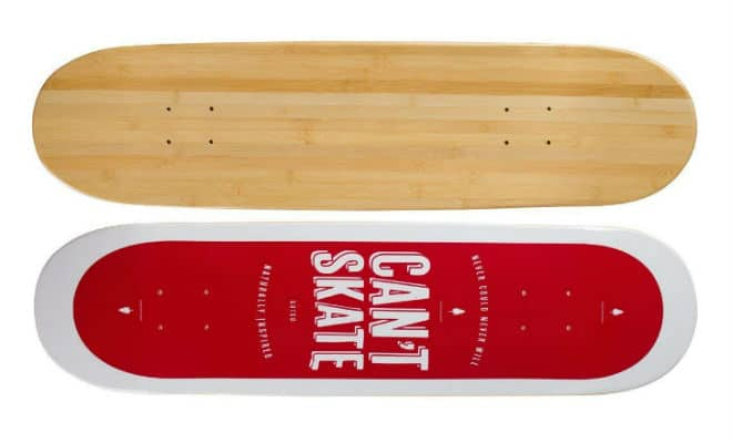 Bamboo Skateboards Galaxy Series Cosmic Cloud
