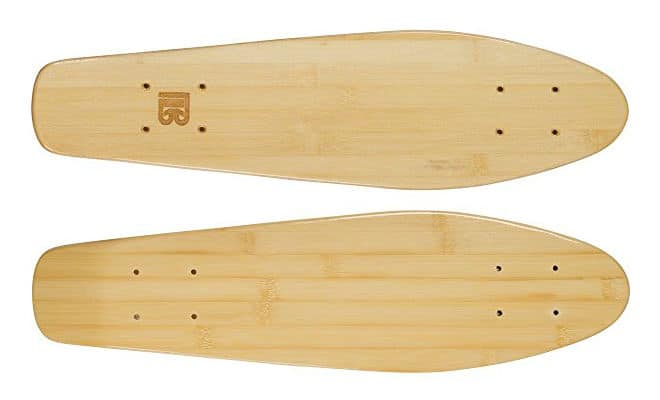 Bamboo Skateboards Mini Cruiser Blank Skateboard Deck