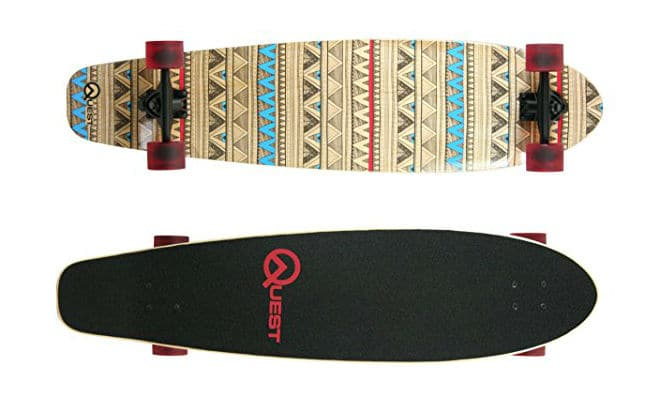 Quest Native Spirit Kick Tail Skateboard