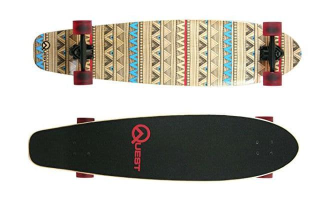 Quest Native Spirit Kick Tail Skateboard