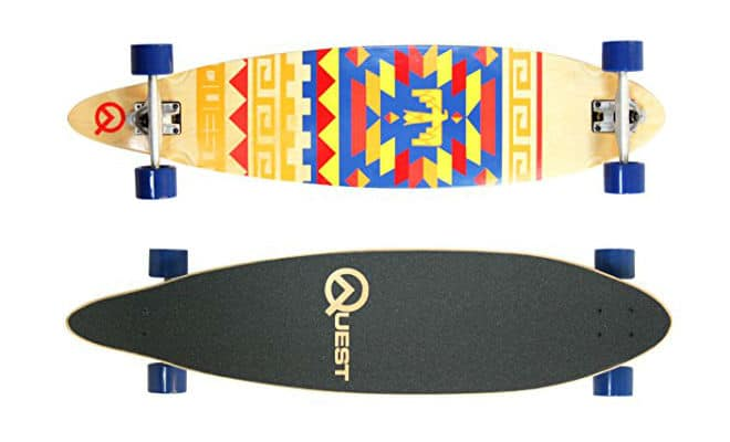 Quest Tribes Pin Kick Tail Skateboard