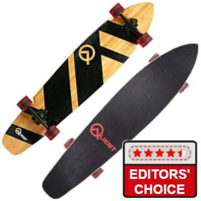 The Quest Super Cruiser Longboard Skateboard