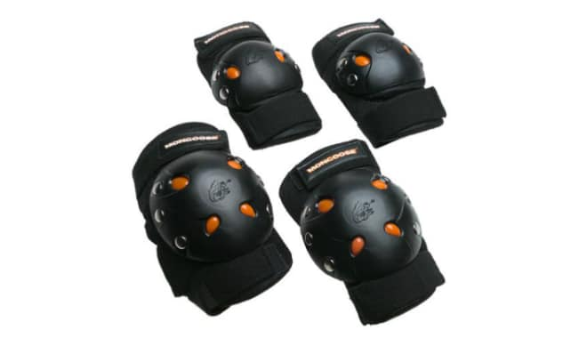Mongoose BMX Bike Gel Knee and Elbow Pad Set
