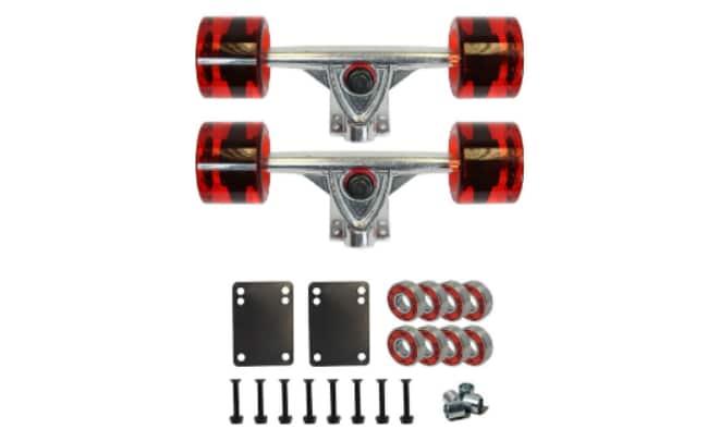 SCSK8 LONGBOARD Skateboard TRUCKS COMBO