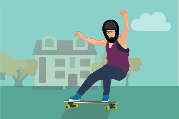 The Health Benefits Of Longboarding