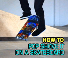 Pop Shove It Skateboard