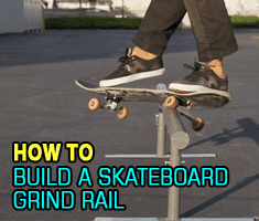 Skateboard Grind Rail
