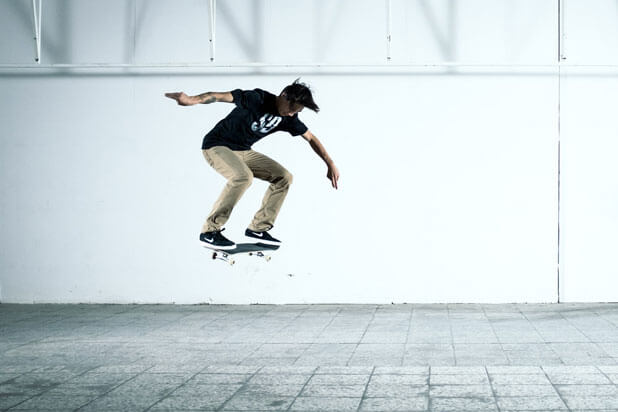 180 degree Ollie