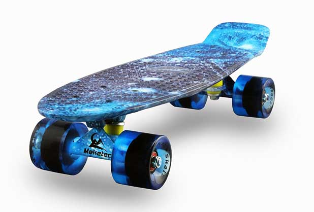 22 inch Mini Cruiser Retro Skateboard