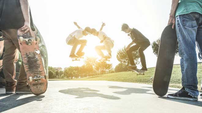 Parkside Skateboard