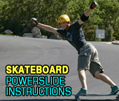 Skateboard Powerslide Instructions