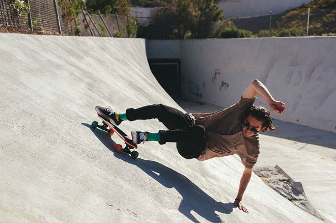 Skateboard Powerslide