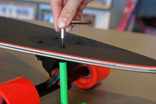 Top Mount Longboard