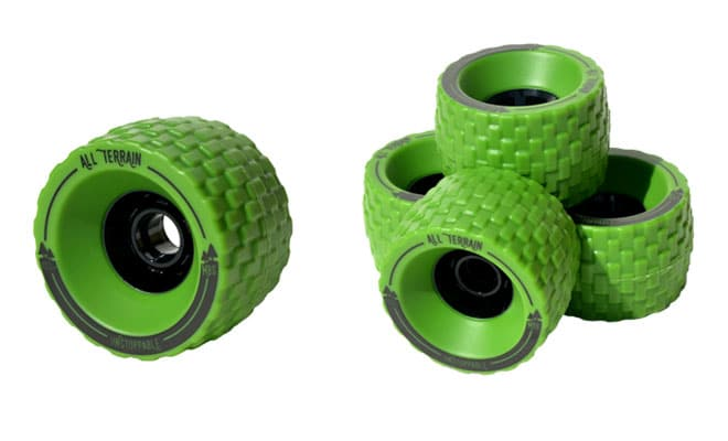 100mm Longboard Wheels