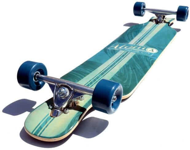 Drop through Longboard for Long Transportation