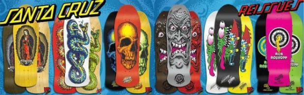 History of Santa Cruz Skateboards