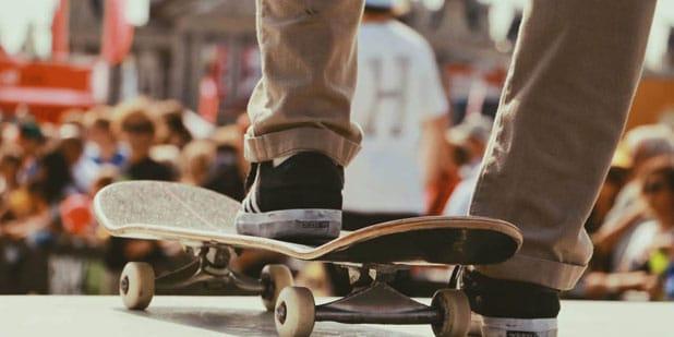 Skateboard Features