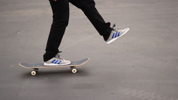 Skateboard should be the first step