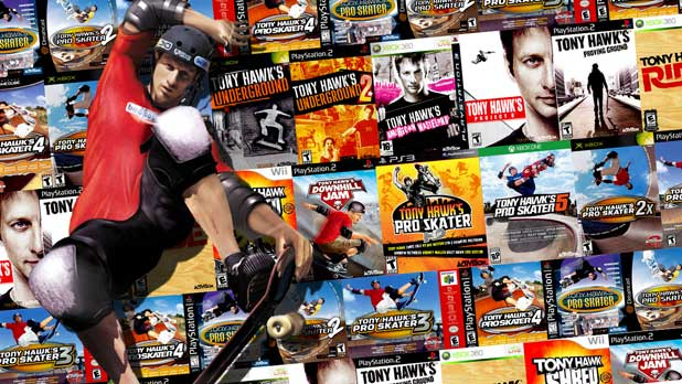 Tony Hawk games