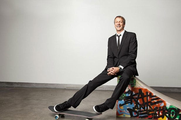 Tony hawks participated in different competitions