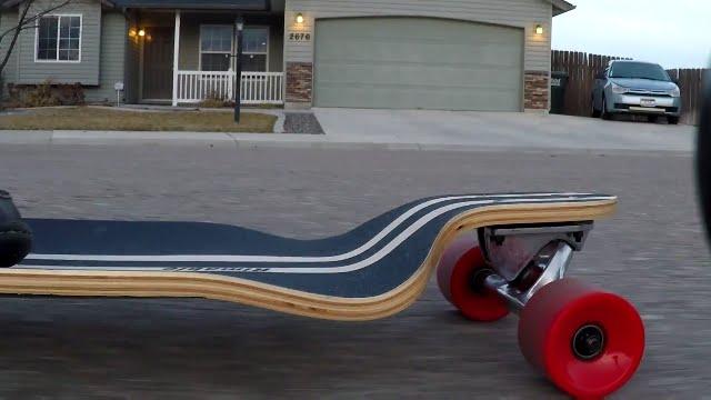 Deck longboard Rimable