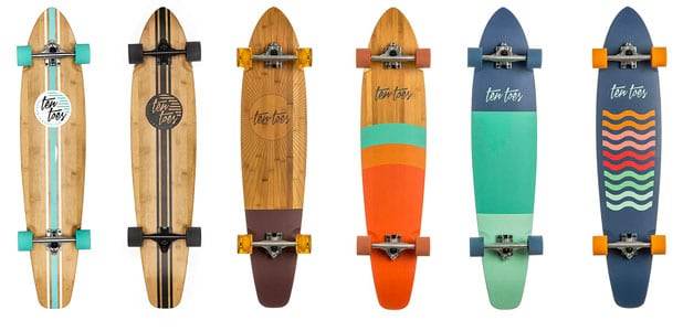 Handy Longboards With An Unlimited Color Selection