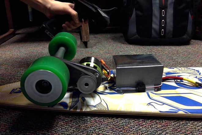 DIY Longboards with Motors