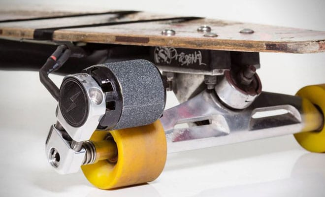 Innovation of Longboards with Motor