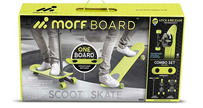 MORFBOARD Skate & Scoot Combo Set