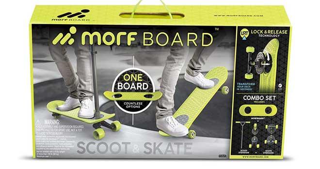 MORFBOARD Skate & Scoot Combo Set