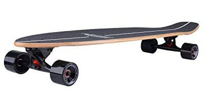 Sanview Bamboo Drop Through Longboard Skateboard Cruiser