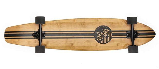 Ten Toes Board Emporium Zed Bamboo Longboard Skateboard