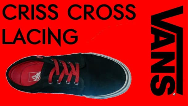 Cross Lace Vans
